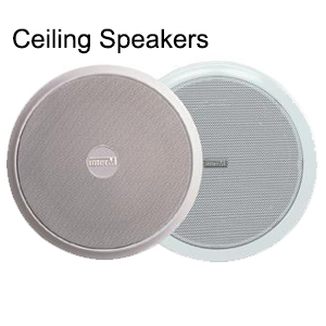 Ceiling speakers sold by StoreStreams provide natural and smooth sound and come a variety of size