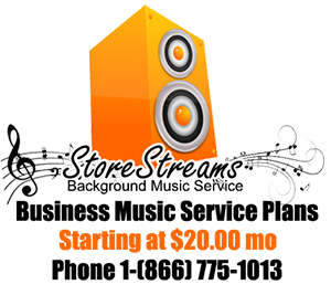 StoreStreams Business Music Service